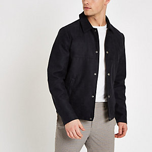 Jack & Jones navy shacket