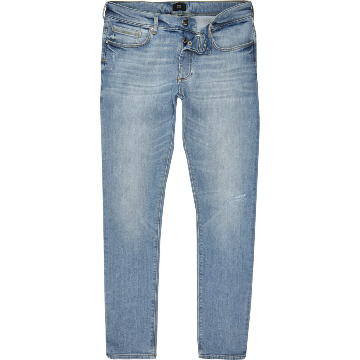 Light blue Sid skinny stretch jeans