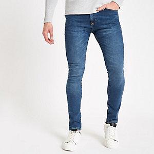 Danny - Middenblauwe superskinny jeans