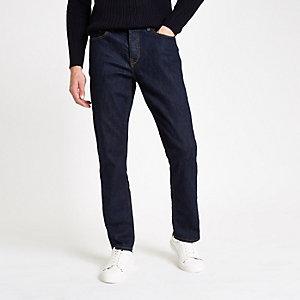 Dean – Dunkelblaue Straight Jeans