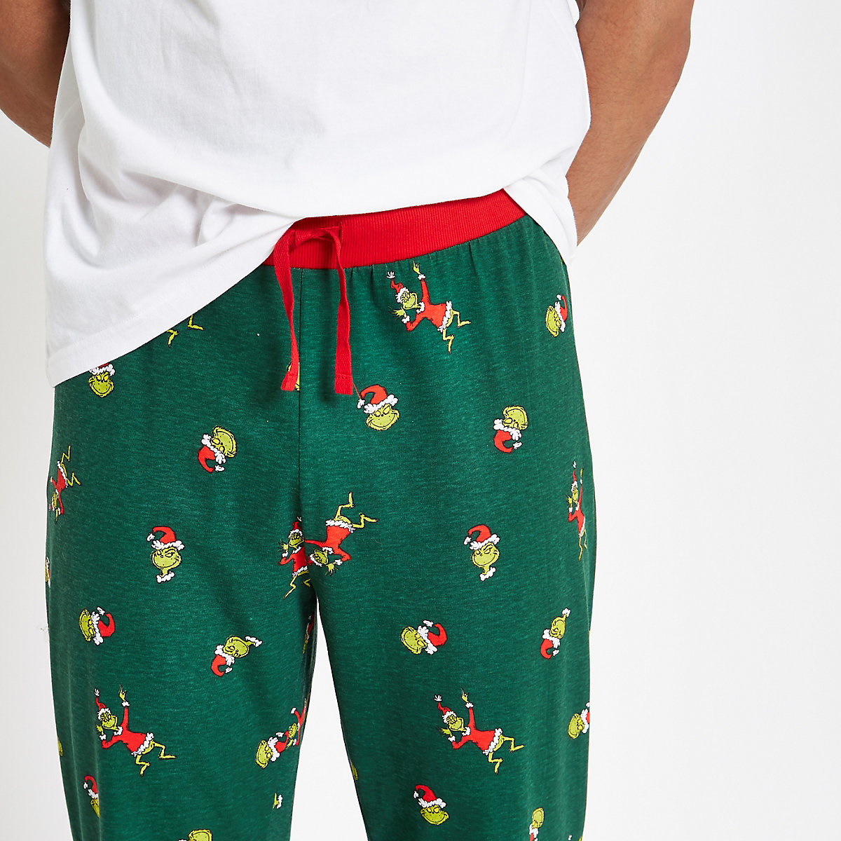 The Grinch Green Pajama Set Pajamas Loungewear Pajamas Men