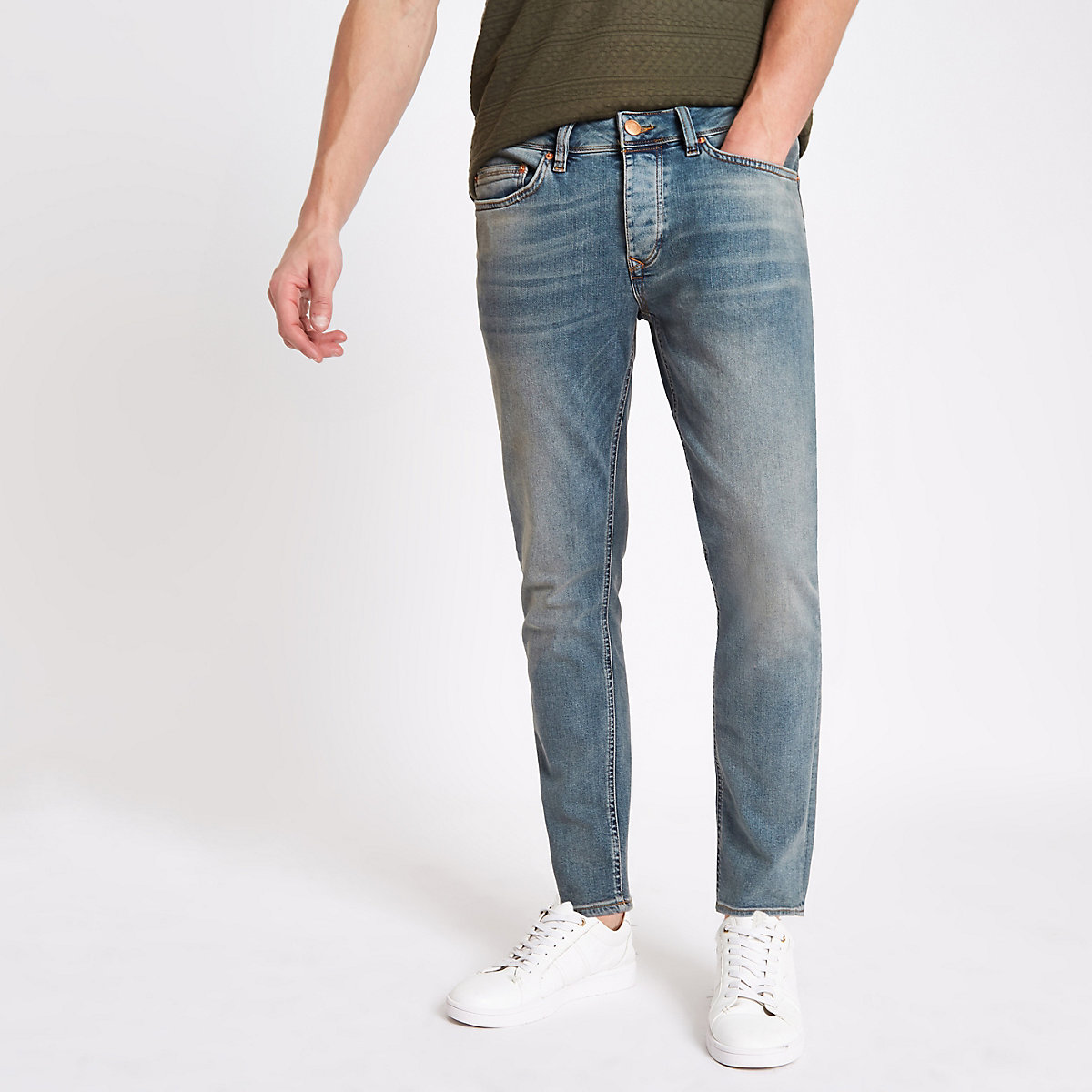 Light blue Dylan slim fit jeans