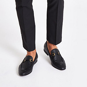 Black snaffle loafers e8a11ab95807