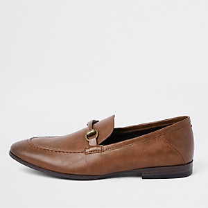 Mocassins marron avec mors