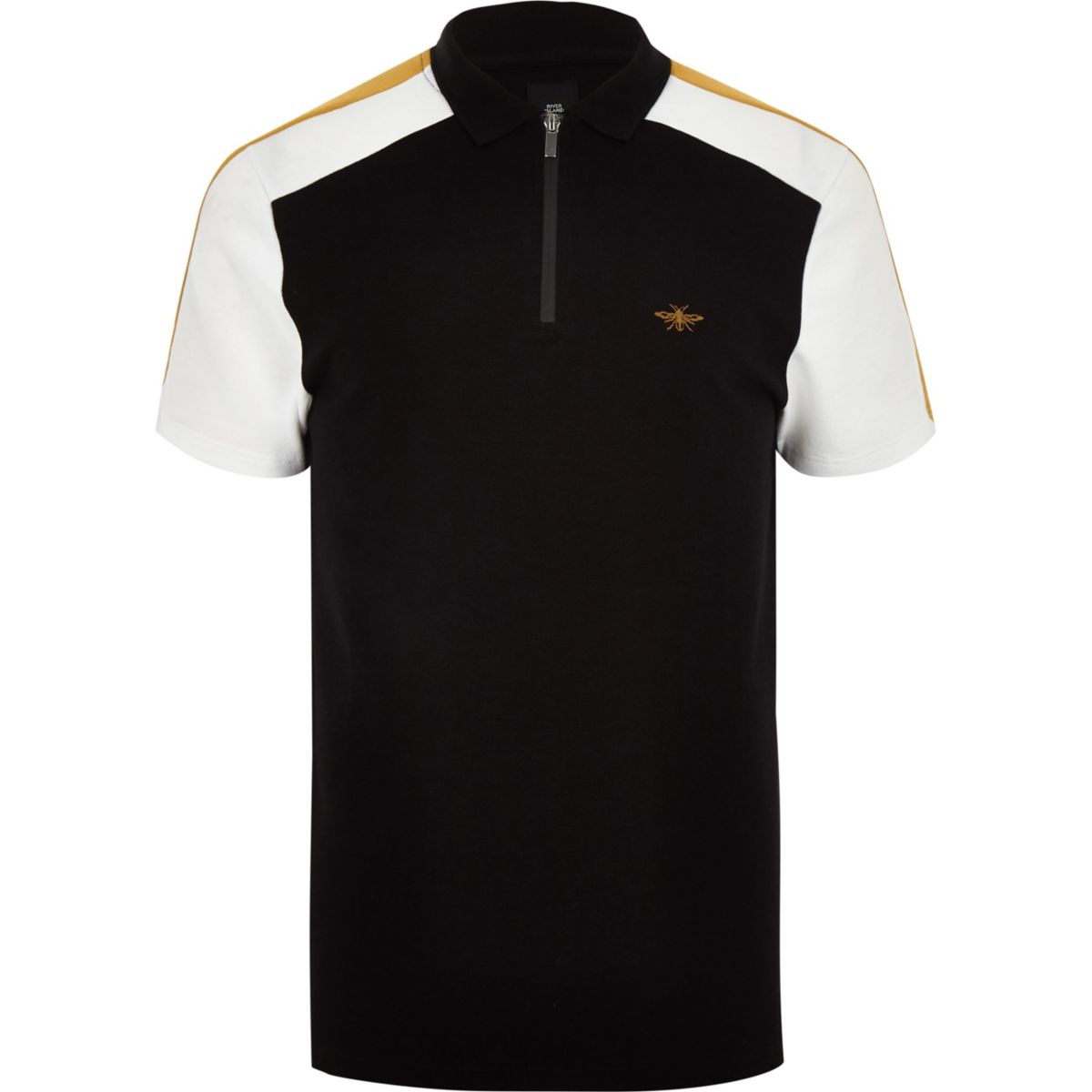 block polo Black wasp shirt colour pique qwxT4AC