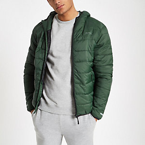 Bellfield green puffer jacket