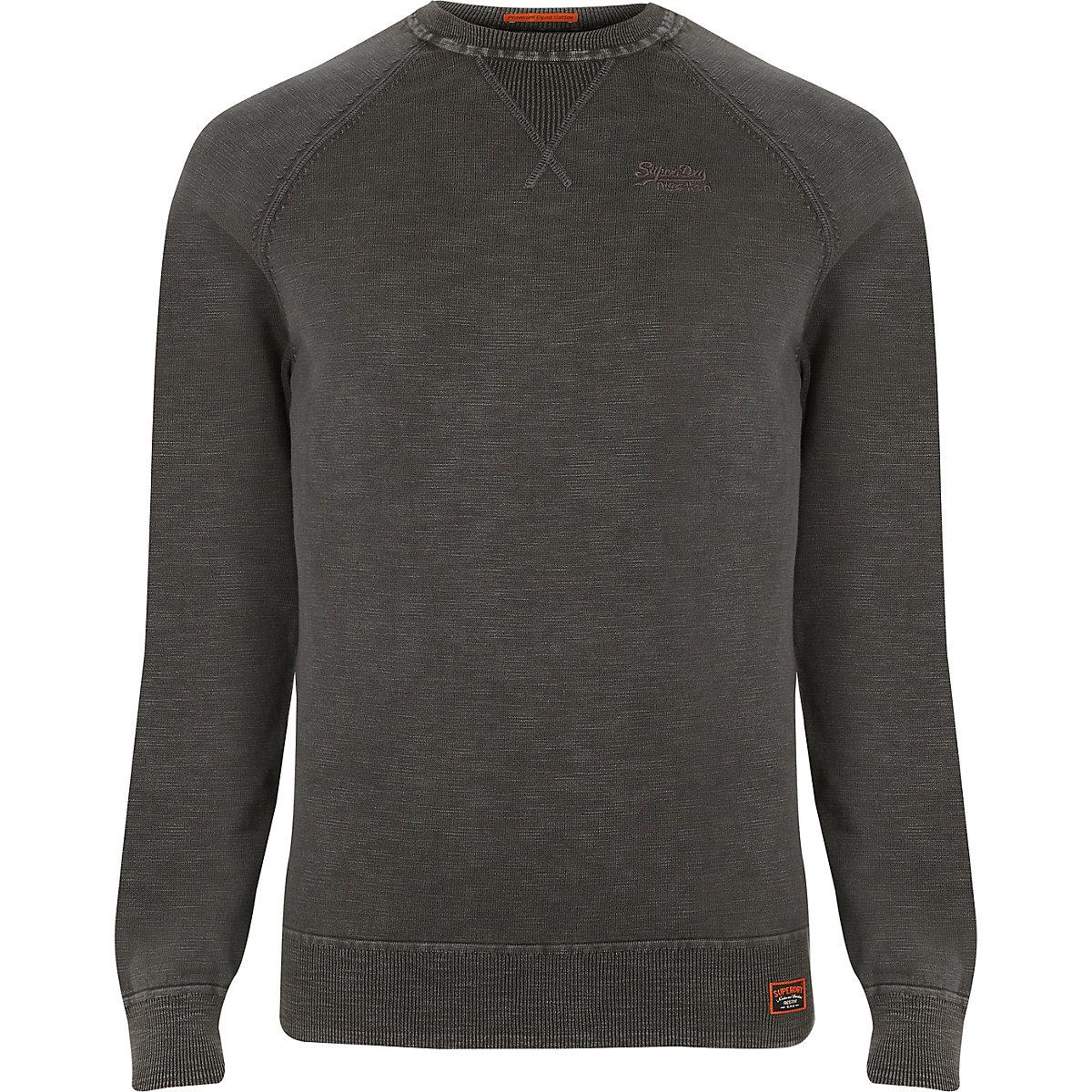 Superdry black sweater