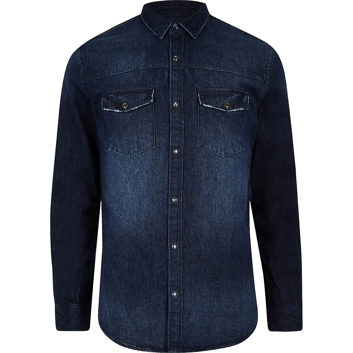 Only & Sons blue denim shirt