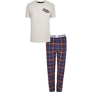Big and Tall 'sleep till noon' pajama set