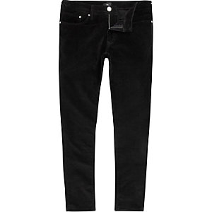 Big and Tall velvet super skinny fit pants
