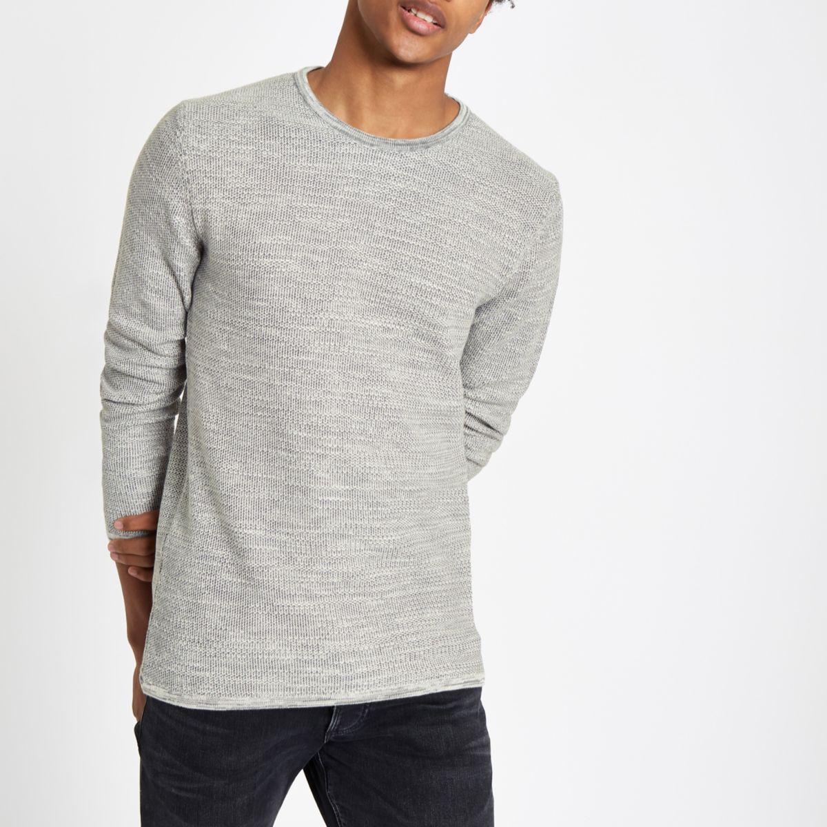 Minimum grey crew neck sweater