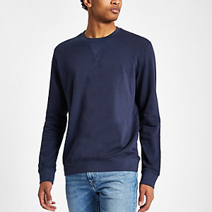 Minimum navy crew neck sweatshirt