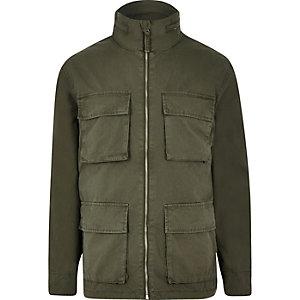 Minimum – Grüne Army-Jacke