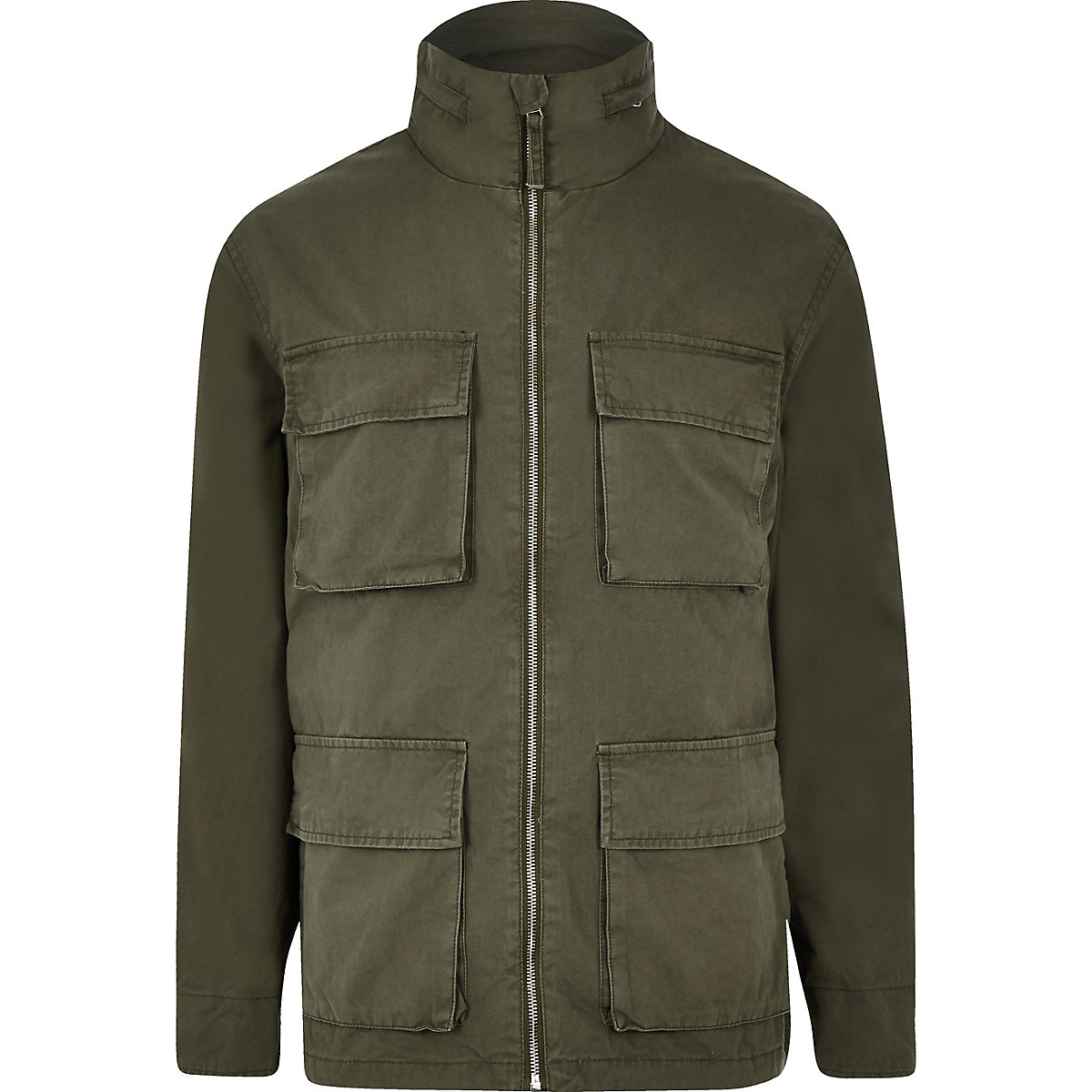 Minimum green army jacket