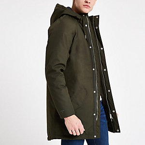Minimum green parka jacket