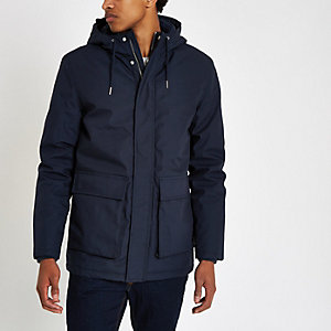 Minimum – Parka bleu marine