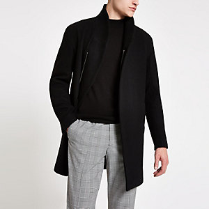 Minimum black Allston classic coat