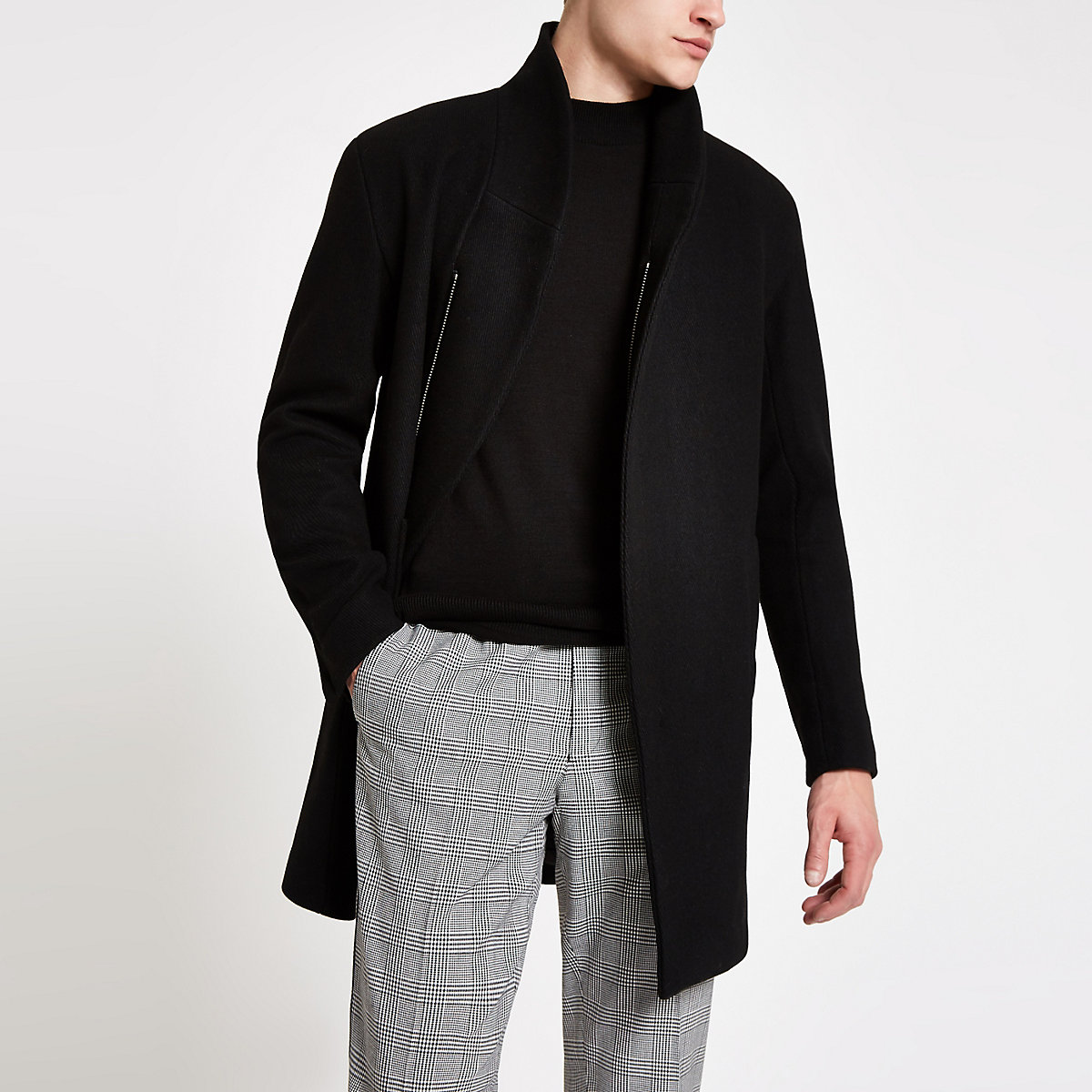 Black Minimum Allston classic coat
