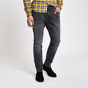 Wrangler – Bryson – Graue Skinny Fit Jeans