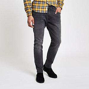 Wrangler - Bryson - Grijze skinny-fit jeans