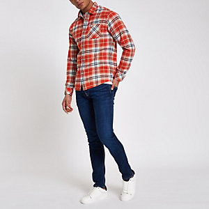 Pepe Jeans - Donkerblauwe skinny fit jeans