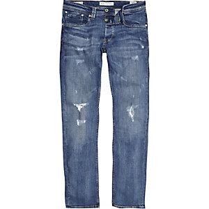 Pepe Jeans – Cash – Jean bleu déchiré