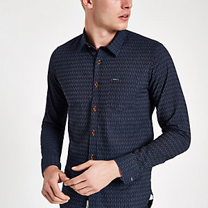 Pepe Jeans – Chesterfield – Blaues Hemd