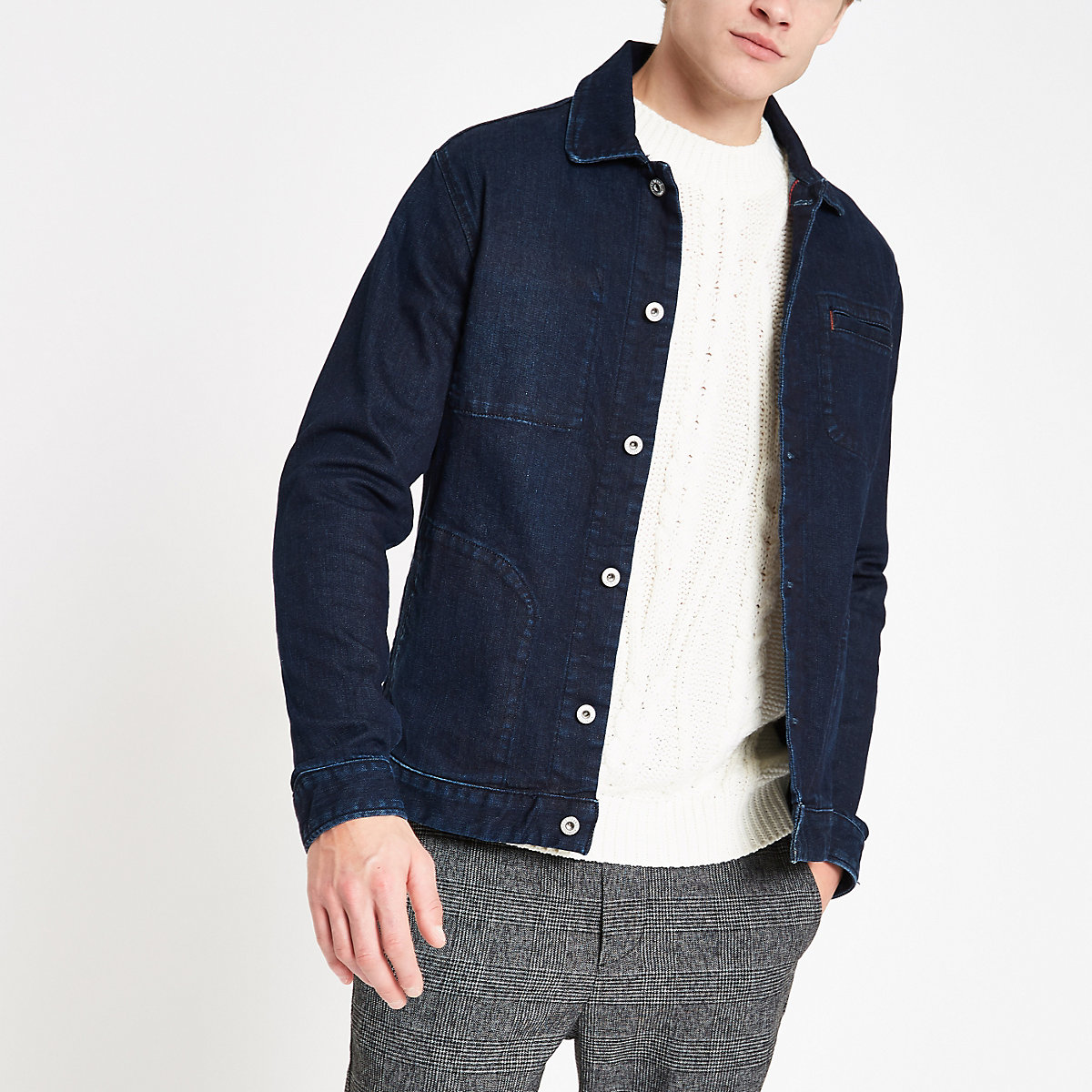 Pepe Jeans dark blue denim jacket
