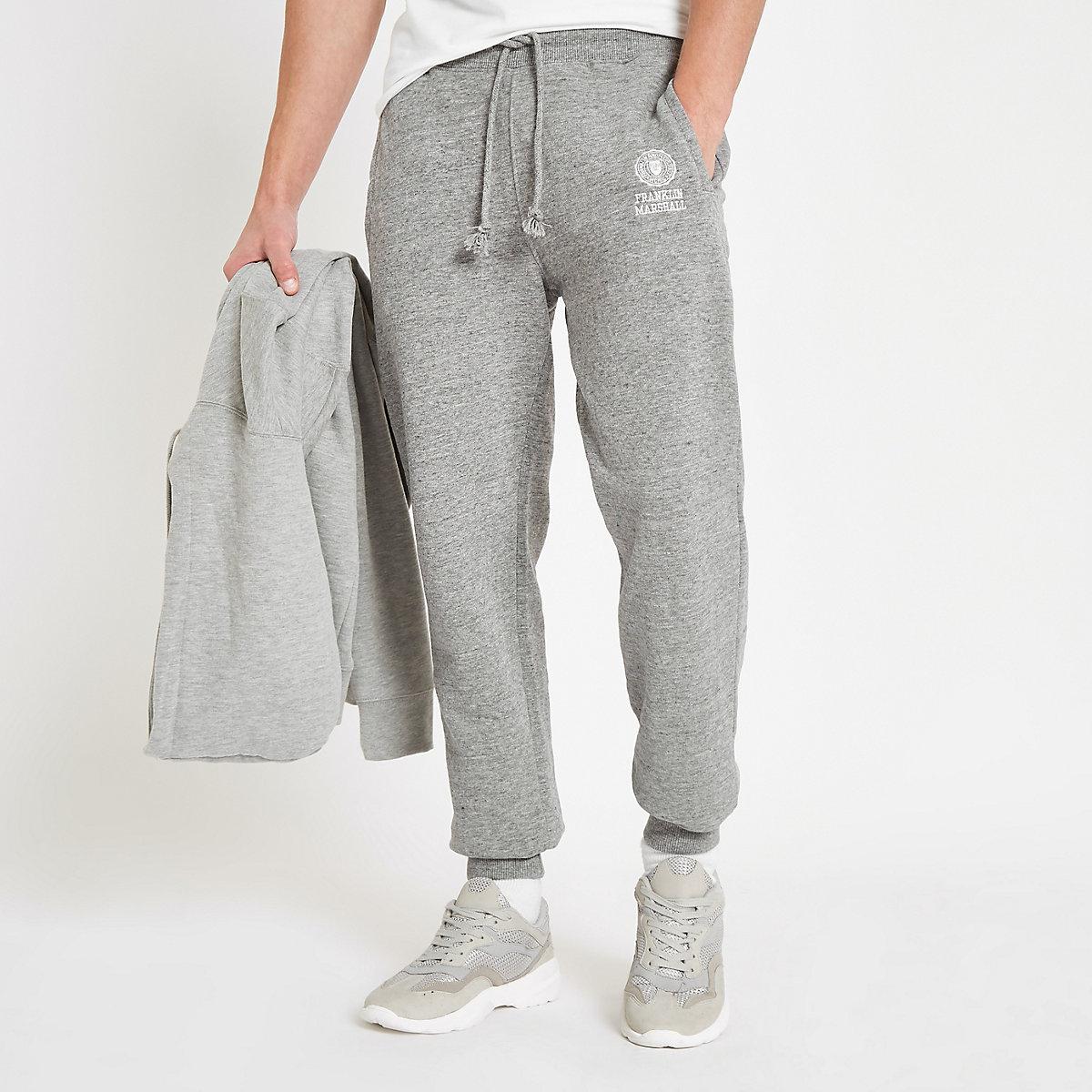 Franklin & Marshall grey fleece joggers