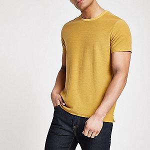 Pepe Jeans - Geel gestreept T-shirt
