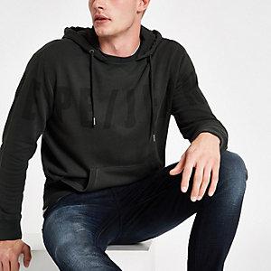 Pepe Jeans – Schwarzer Hoodie mit Logo