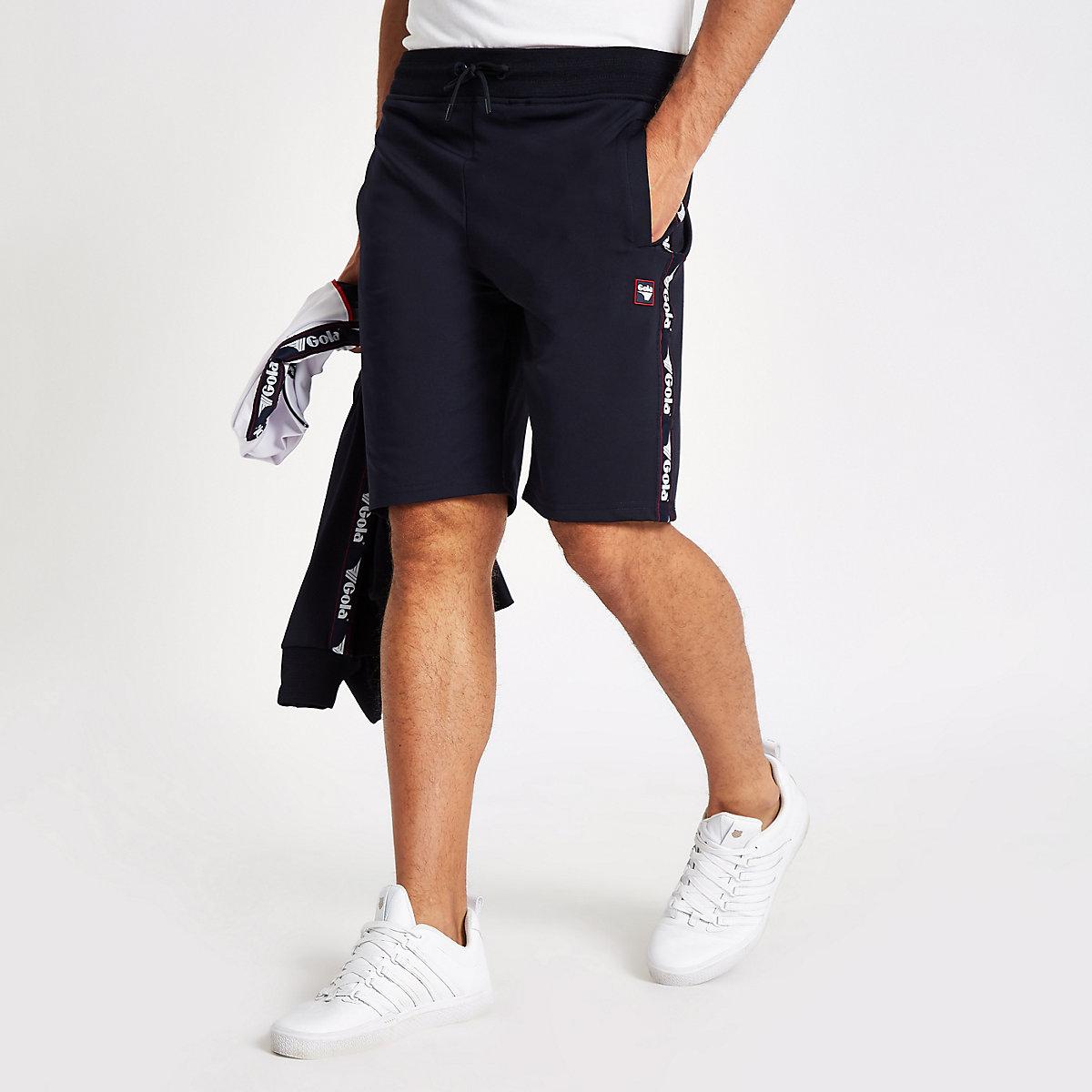 Gola navy tape shorts