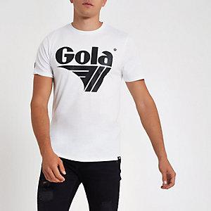 Gola - Wit T-shirt met logo