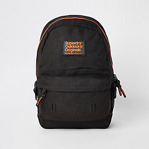 Superdry Originals – Sac à dos noir à logo