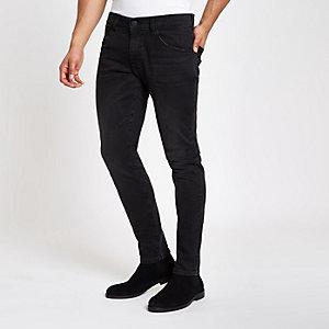 Wrangler - Bryson - Zwarte skinny jeans
