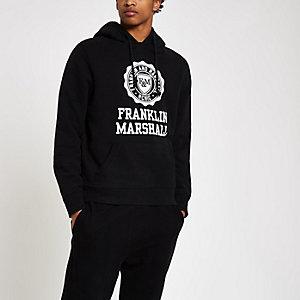 Franklin & Marshall - Zwarte hoodie