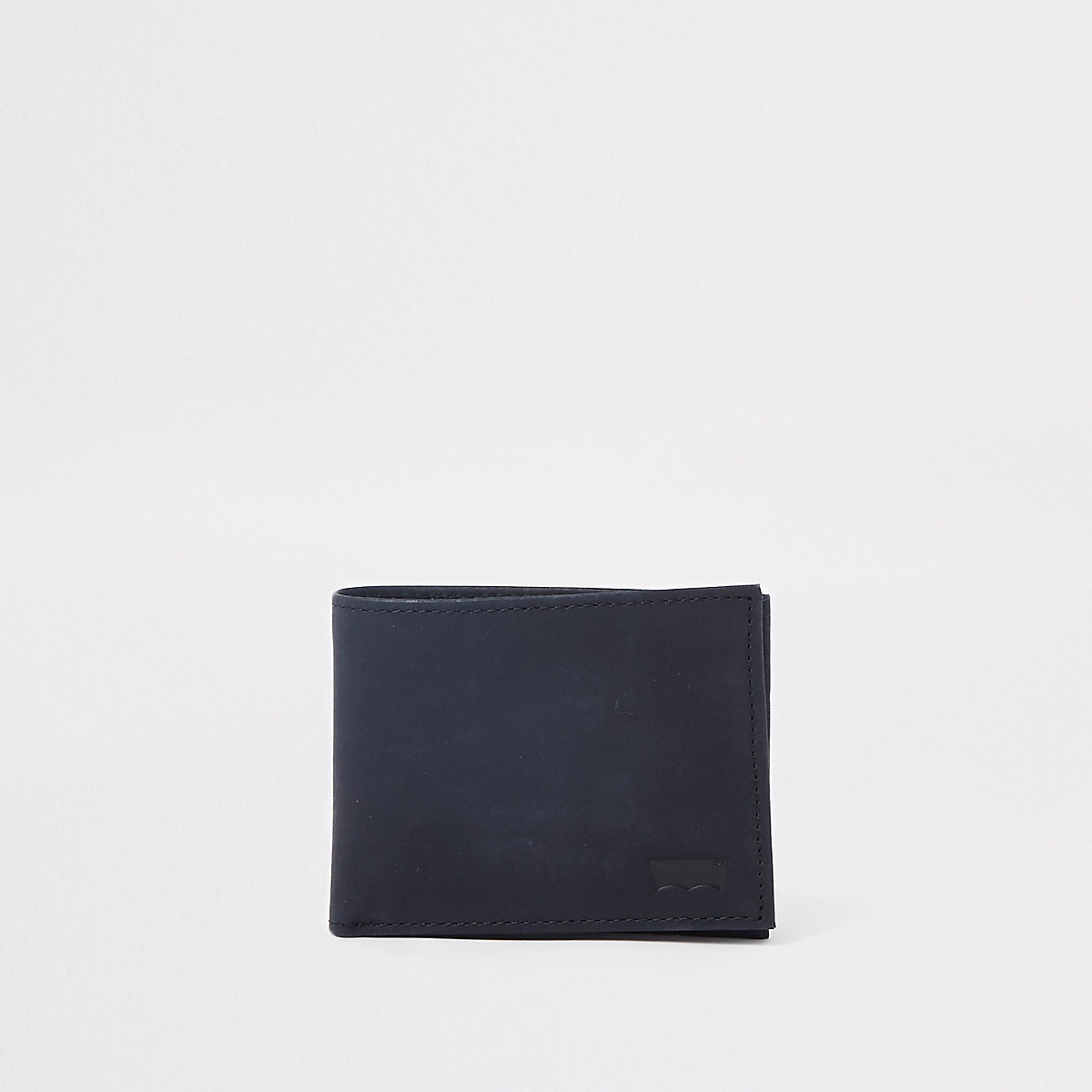 Levi's black leather fold out wallet