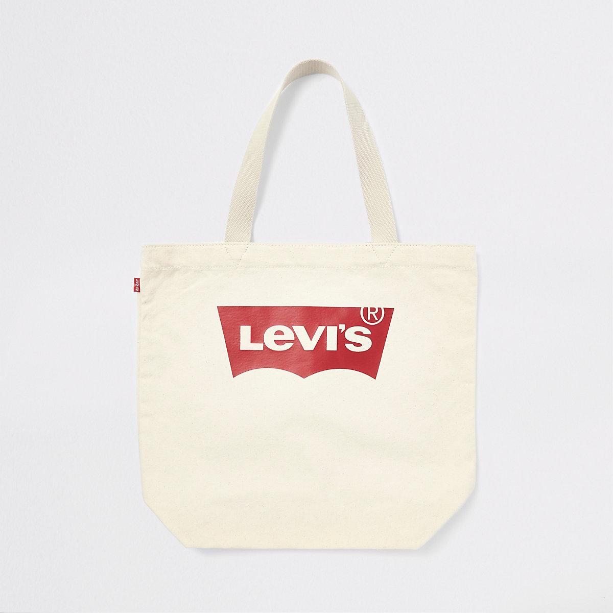 Levi's ecru tote bag