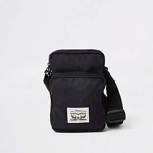 Levi's black mini cross bodyflight pouch
