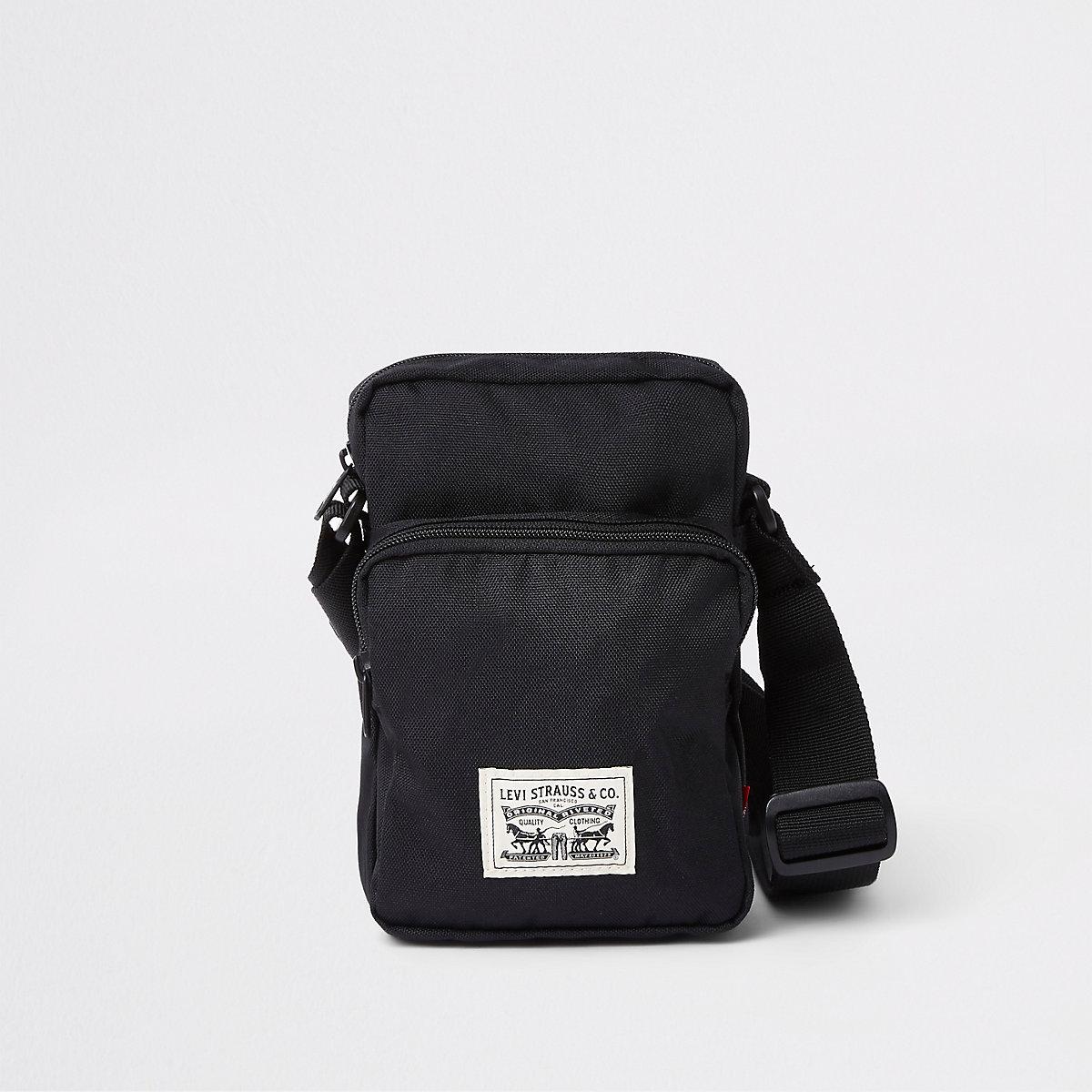 02f2e6b630c Levi s black mini cross bodyflight pouch - Cross Body Bags - Bags - men