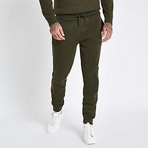Pantalon de jogging slim vert foncé