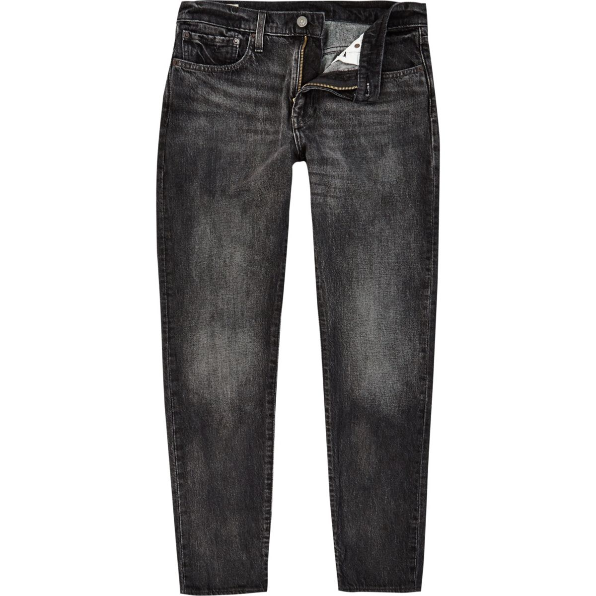 Levi's black denim 512 slim taper fit jeans