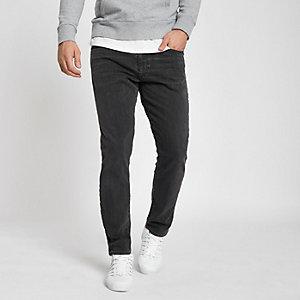 Levi's – 512 – Dunkelgraue Slim Taper Fit Jeans