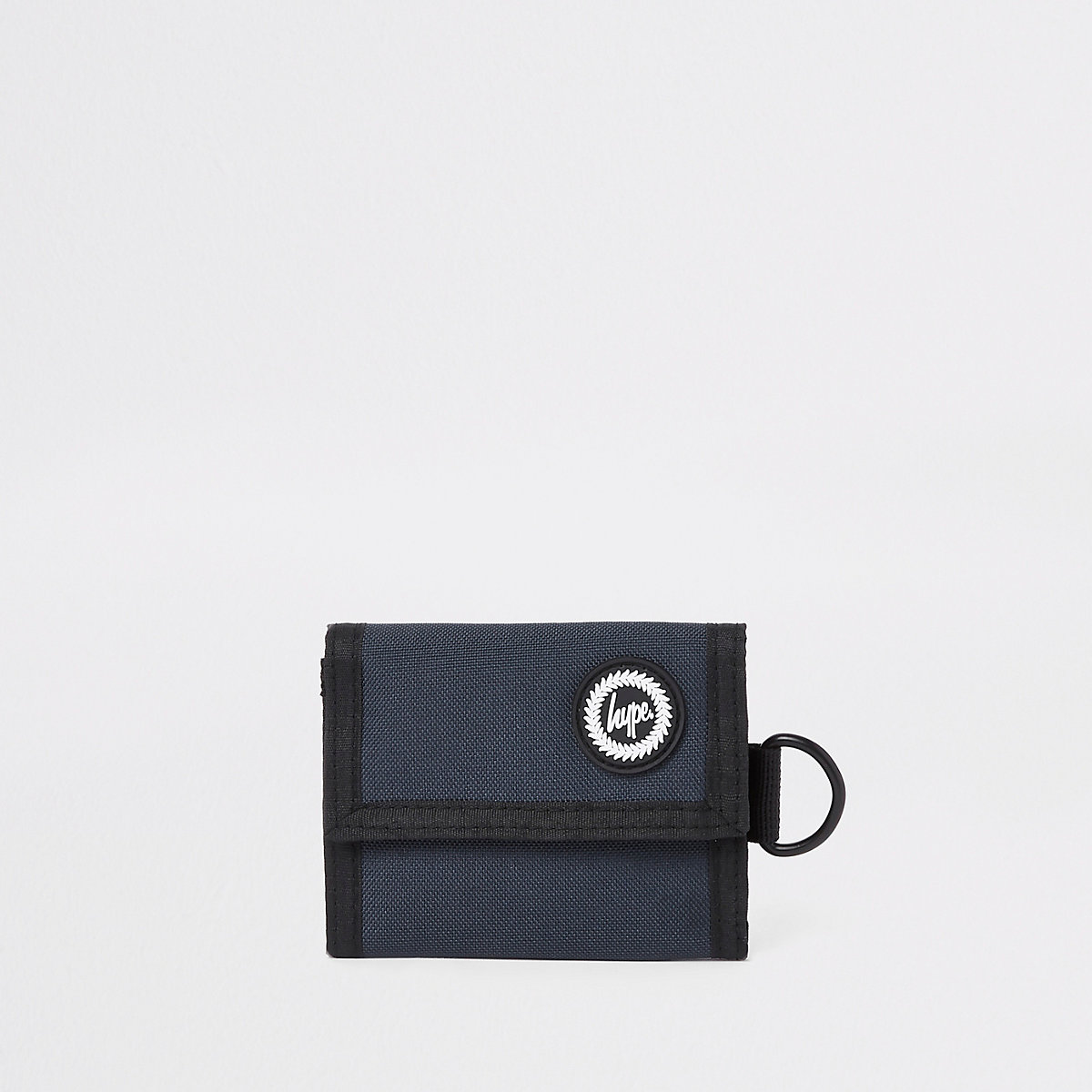 Hype navy space embroidered wallet