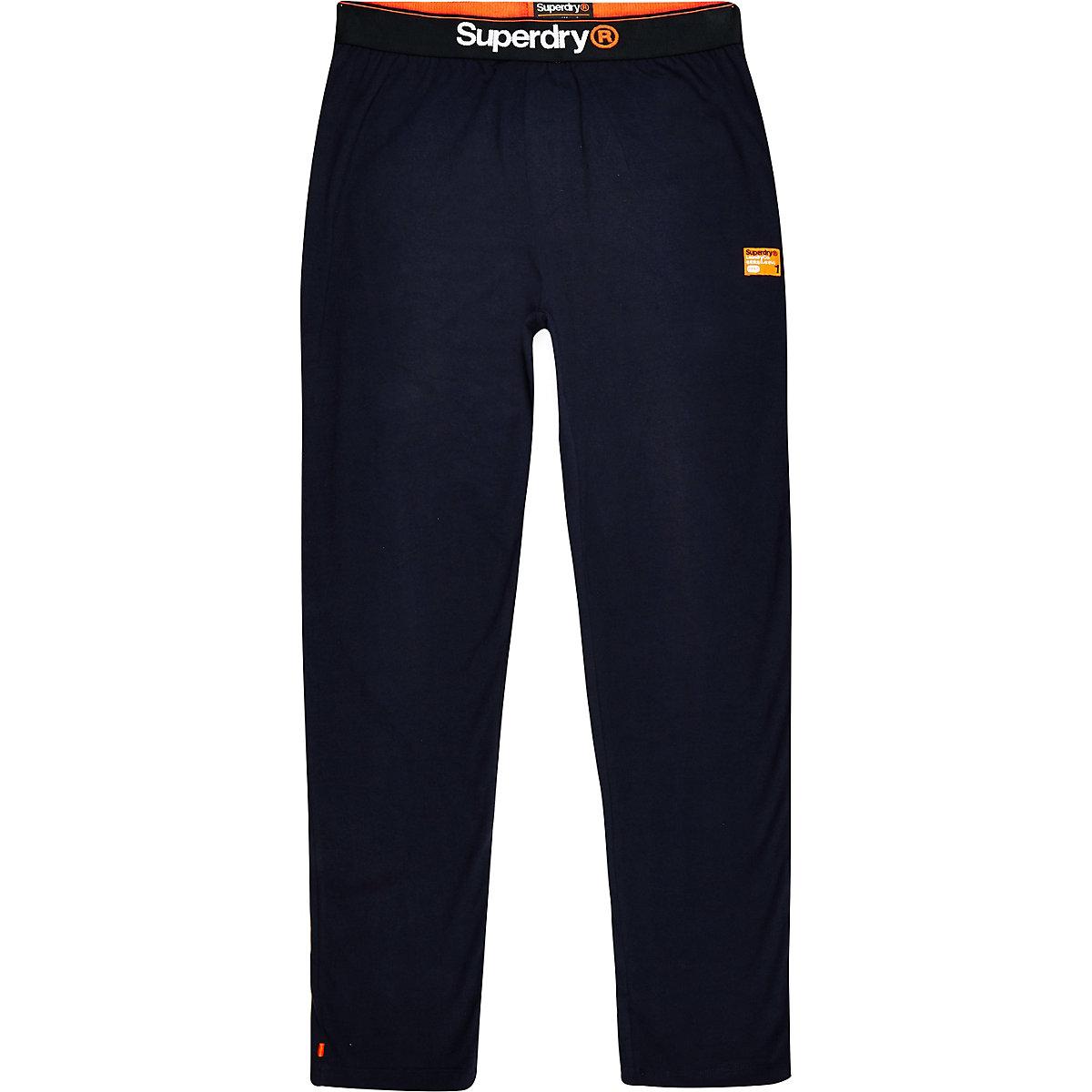Superdry navy loungewear pants