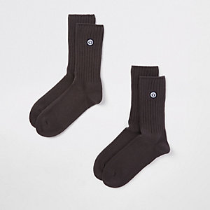 Superdry University grey socks multipack