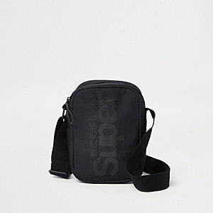Superdry - Zwarte crossbodytas