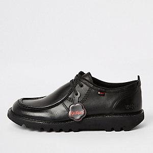 Kickers – Chaussures basses en cuir noires