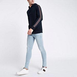 Ollie – Jean skinny bleu clair délavé
