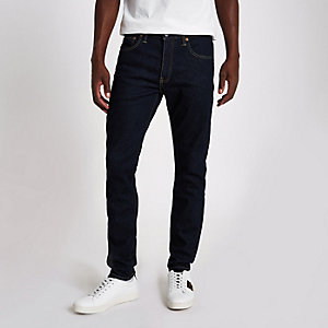 Levi's 512 - Blauwe slim-fit denim jeans